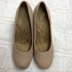 Aerosoles wedges heels plum tree shoes SZ  8.5